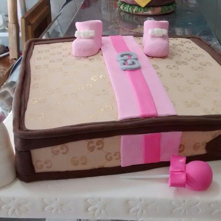 Gucci cake babyshower babygirl