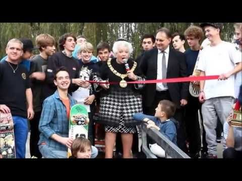 Check out this video from the skate park opening, 27 October!