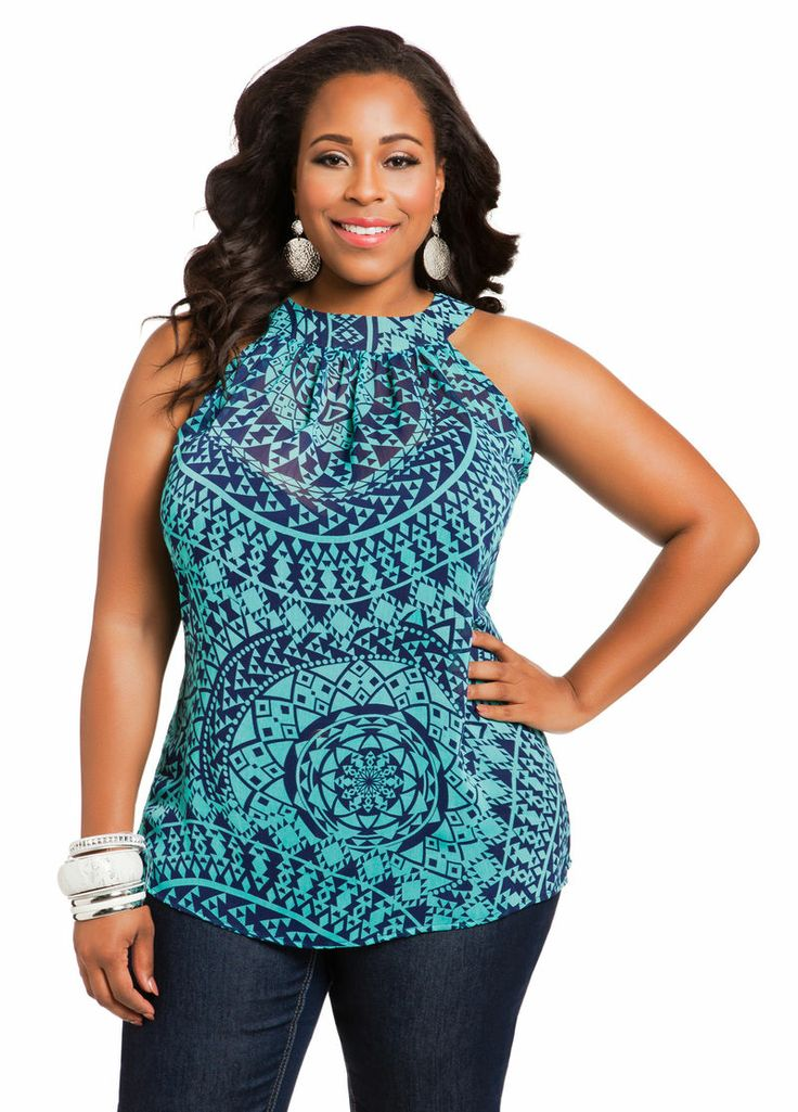 10 Pretty Plus Size Tops For Spring Under $30 - @PLUS Model Mag Thinks you should have this...Like a must have! ;) #TeamAliyahC