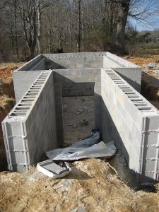 A sturdy structure is a must in a root cellar