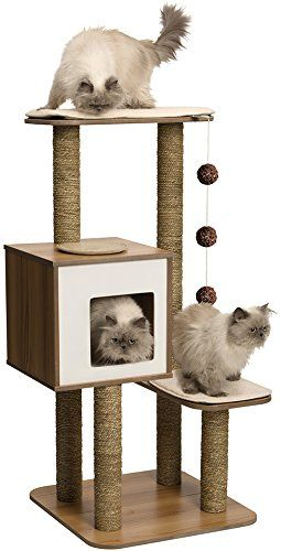 Vesper Cat Furniture V-High Base Black 56 x 56 x 121.5cm