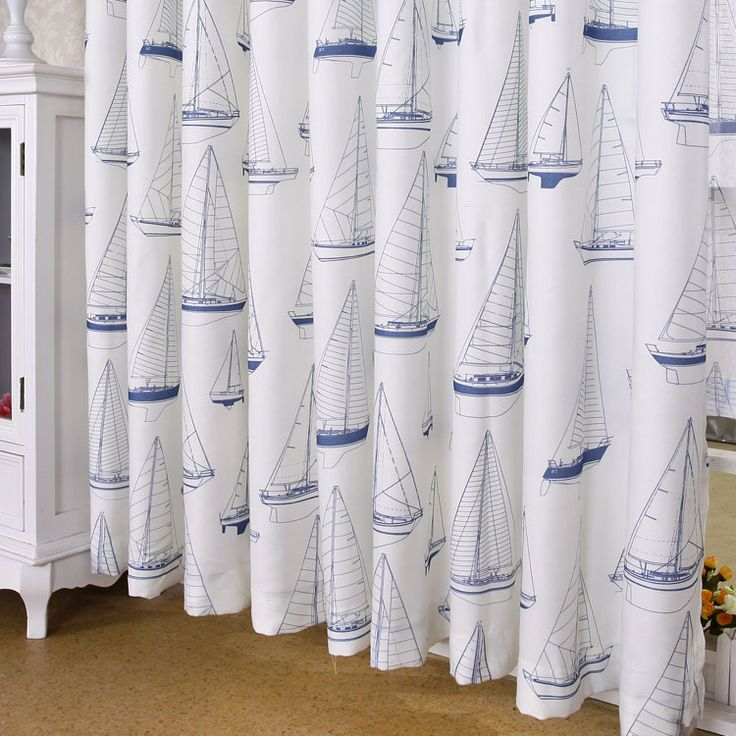 treatments by anchor drapes awesome nautical regarding ideas window curtain panels for curtains plans anchors themed