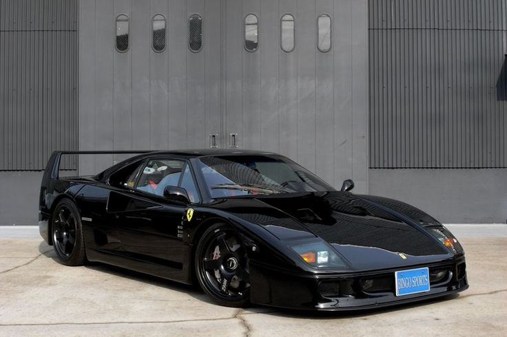 this ferrari f40 is the coolest car to ever be posted on this website 9k racing mechanical. Black Bedroom Furniture Sets. Home Design Ideas
