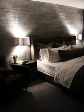 Chicago Bachelor Pad - contemporary - bedroom - chicago - TROST | creative