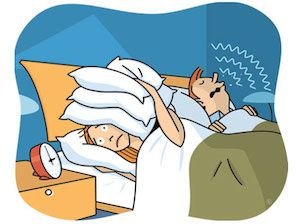 Some tips to solve sleep snoring