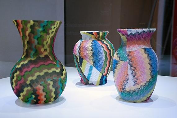 missoni vases  are beautiful