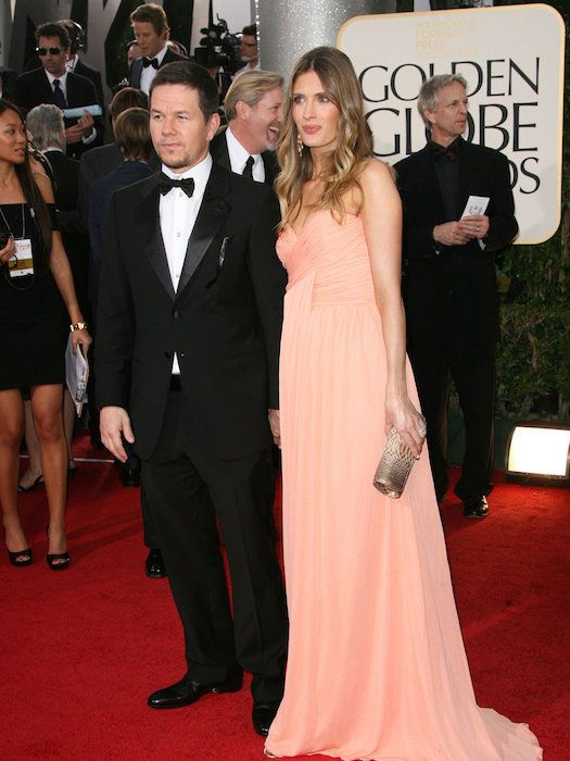 Mark Wahlberg and his wife Rhea Durham at 2014 Golden Globe Awards...