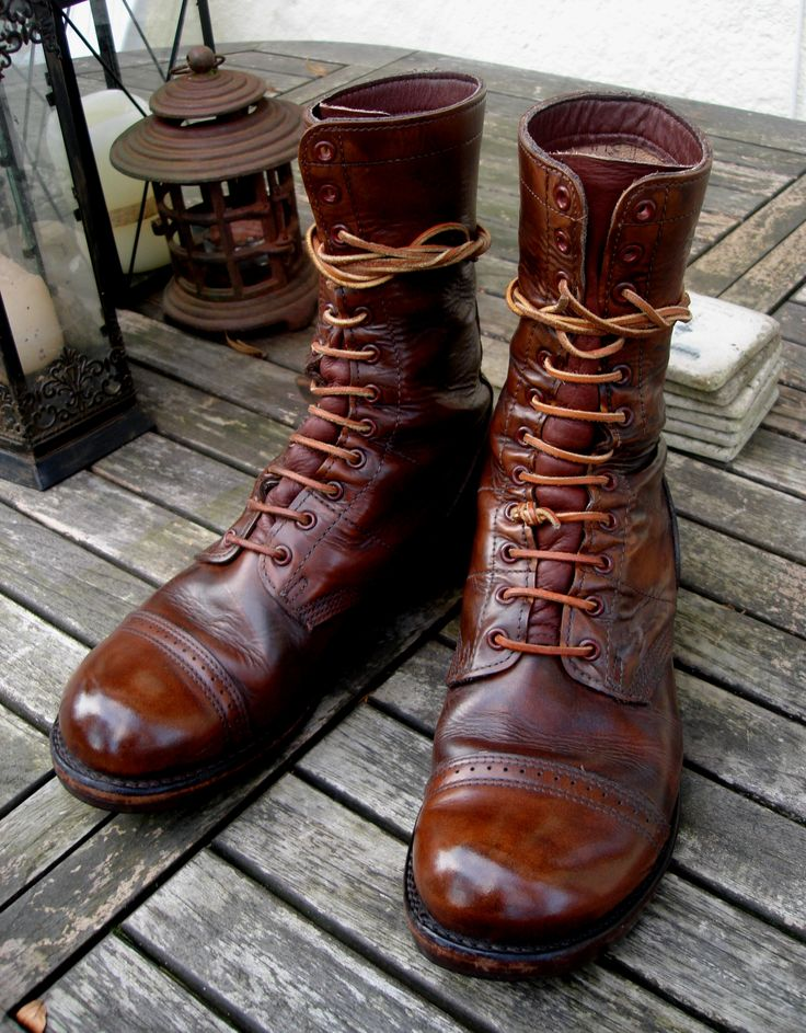 My Vintaged Corcoran Jump Boots Freshly Cleaned And