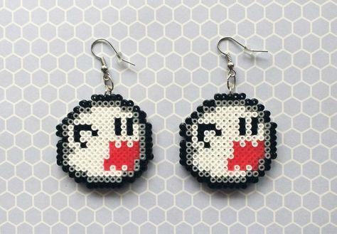 Boo Geist Ohrringe Mario Ohrringe Ohrringe von 8BitEarrings