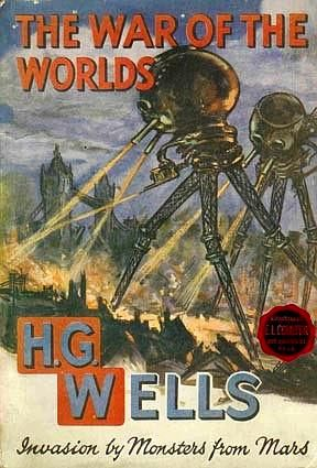 The War of the Worlds 1913 cover.
