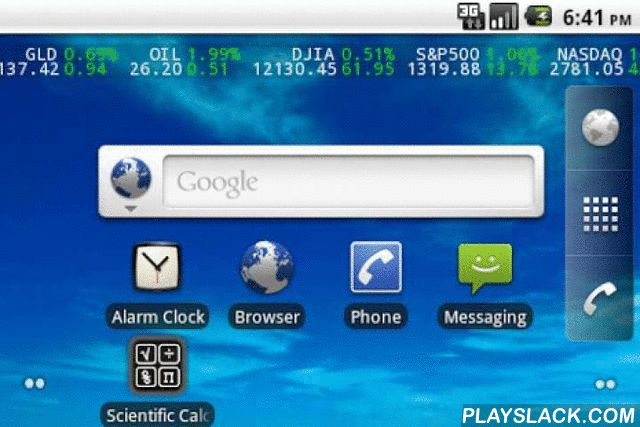Stock Ticker Lite  Android App - playslack.com , View the US major indices on your home screen and lock screen. Drag the ticker anywhere on your screen to set the position. Why choose a stock ticker wallpaper over a stock ticker widget?-See your stocks at a glance from the lock screen-If you don't see it its not doing anything. A widget is constantly running. This is an improvement in battery life.*In the pro version add nearly any stock, equity, ETF, mutual fund or index in the world and…
