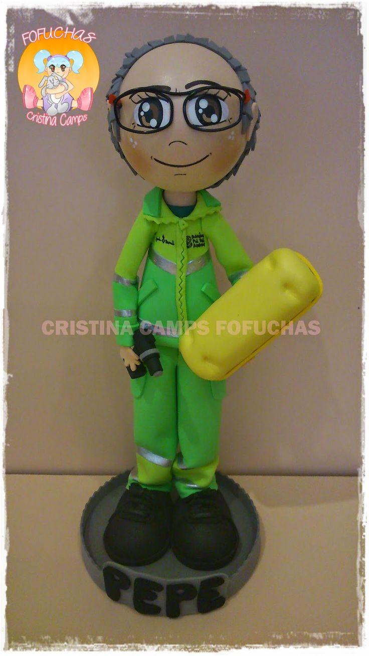 Cristina camps fofuchas fofucho servicio de limpieza de barcelona figuras adultos pinterest - Agencias de limpieza barcelona ...