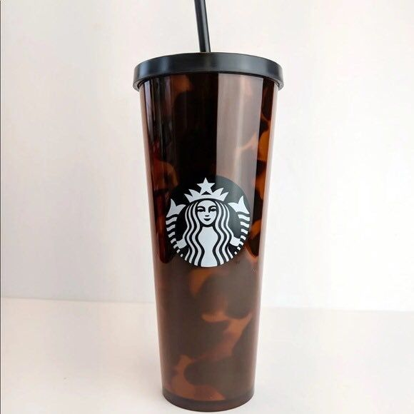 NWT! Starbucks Florals Acrylic Cold Cup 24 Oz 2019