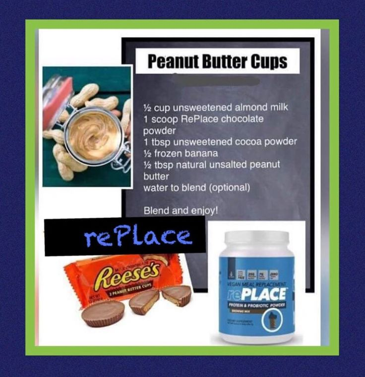 What is better than Chocolate and Peanut butter in this no guilt prtein shake?  Order your TruVision Health's rePLACE today!  https://angelalansing.truvisionhealth.com/