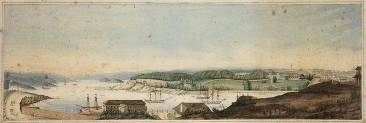 Sydney Cove, 1820's.