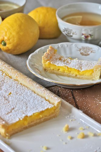 La tana del coniglio: Tarte al limone