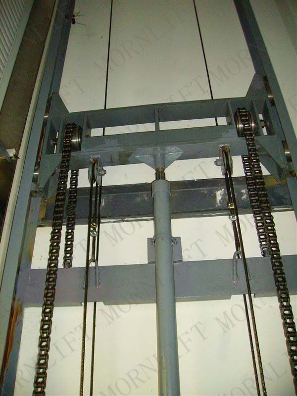 Hydraulic Cargo Lift Cargo Rail Lift Guide Rail Lift