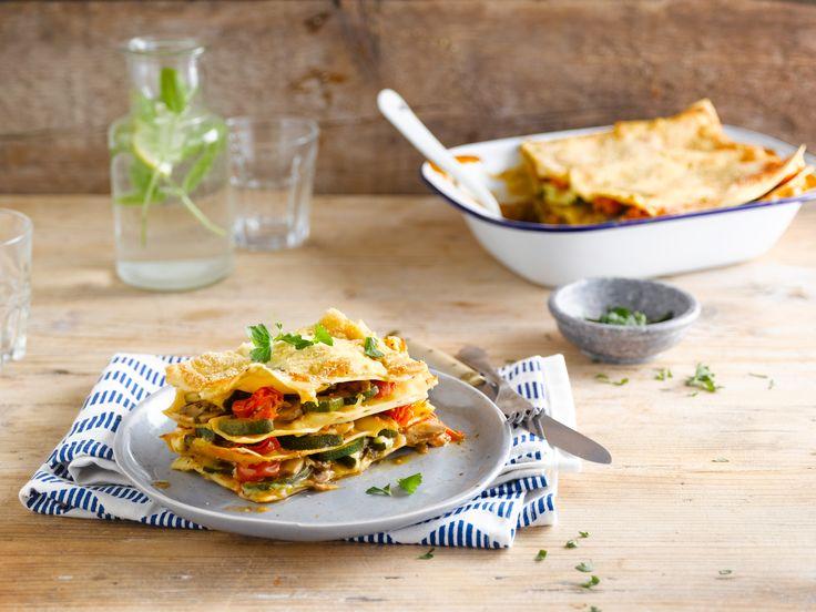 Een veggie lasagne met Alpro soya Original die zelfs bij de grootste vleeseters in de smaak valt