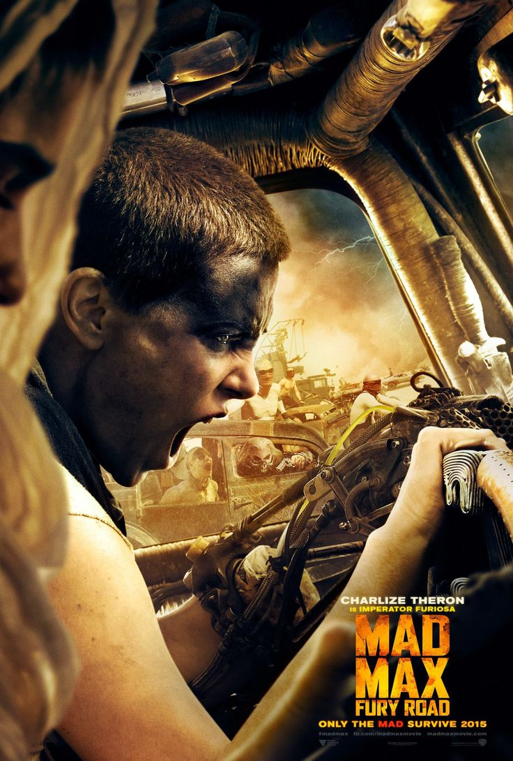 Mad Max: Fury Road poster . (2015) Charlize Theron