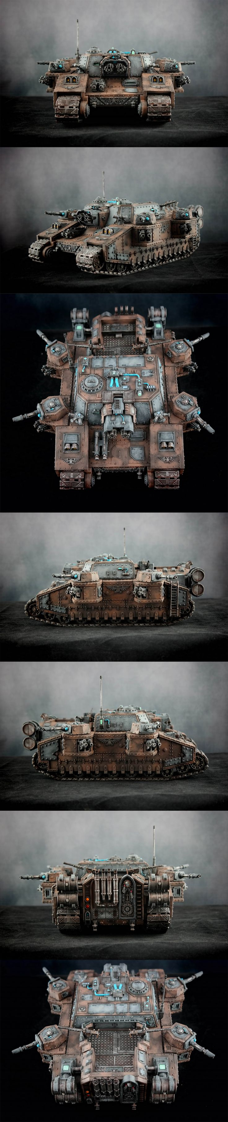 Astra Militarum / Imperial Guard - Super Heavy Tank - Stormlord