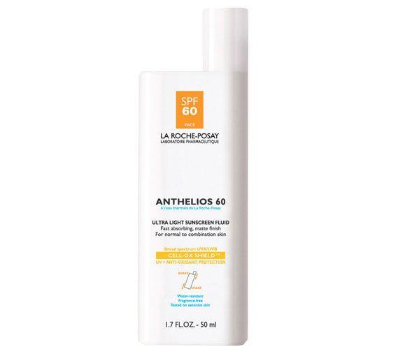 Best Facial Sunscreens: La Roche-Posay Anthelios 60 Ultra-Light Sunscreen Fluid #beauty