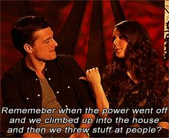 Oh josh and Jen: remember when the power went out and we threw stuff at people