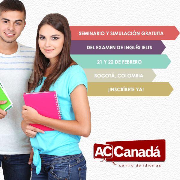 Seminario y simulación gratuita del IELTS en BOGOTÁ.  Inscríbete:  http://190.144.31.94/acsolutions/jobs/publicregistro/RFloRzkzYjBxeUpmSXhmczJndVZvVXViV3d2bmlSMkcwRmdhQzltYXNkYXNkaQ==:7685934234309657453542496749683645/Y2FtcGFpbg==:15/a2V5Zm9ybQ==:RFloRzkzYjBxeUpmSXhmczJndVZvVXViV3d2bmlSMkcwRmdhQzltYXNkYXNkaQ==  Próximas fechas: Viernes 21 de febrero a las 7:30 PM Sábado 22 de febrero a las 8:00 AM  Lugar: Calle 121 #6-46 Oficina 119 Bogotá, Colombia