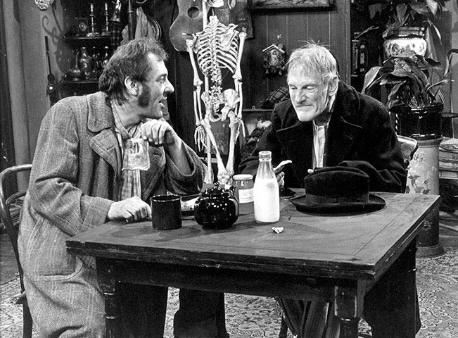 Credit: BBC June: Steptoe and Son makes British TV debut The BBC broadcast the first episode of the sitcom Steptoe and Son on 14 June, starring Harry Corbett and Wilfred Brambel