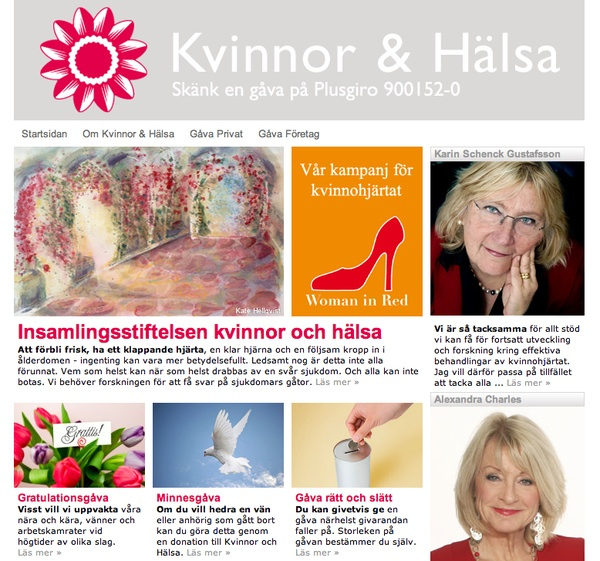 Web Design by Sabina Wroblewski Gustrin, via Behance
