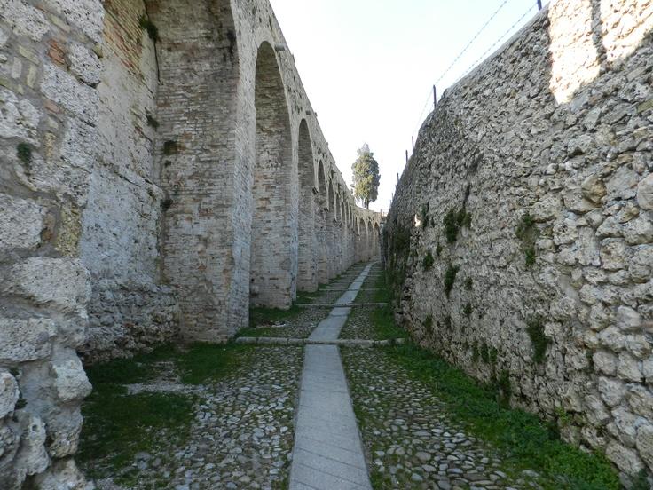 The walls of Conegliano