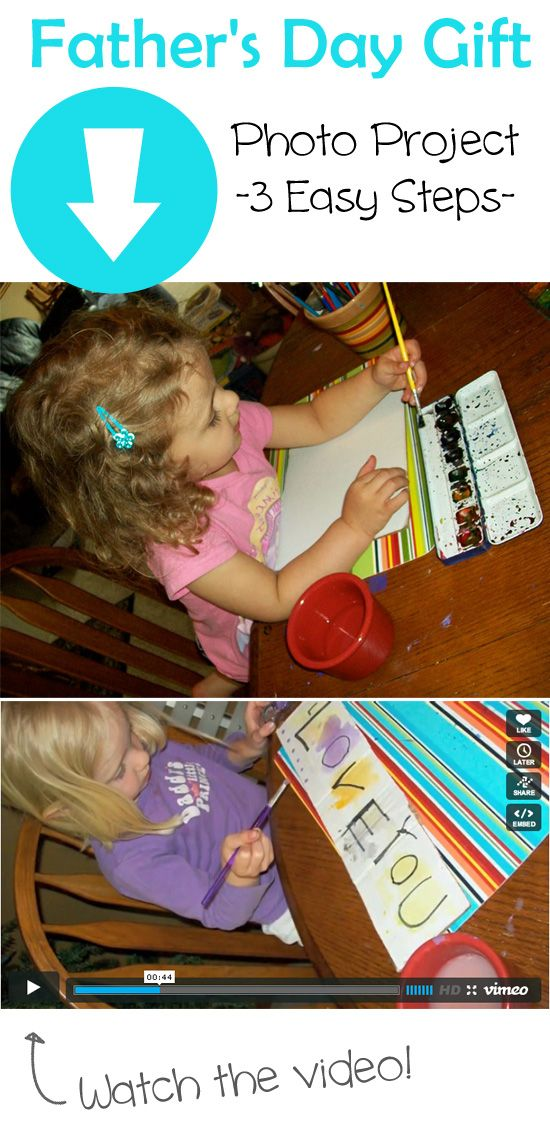 {Photo Project in 3 Easy Steps} #FathersDayGift