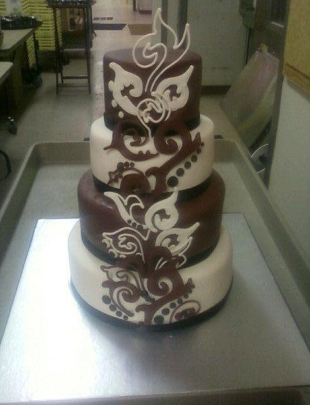 my first ever weddingCAKE
