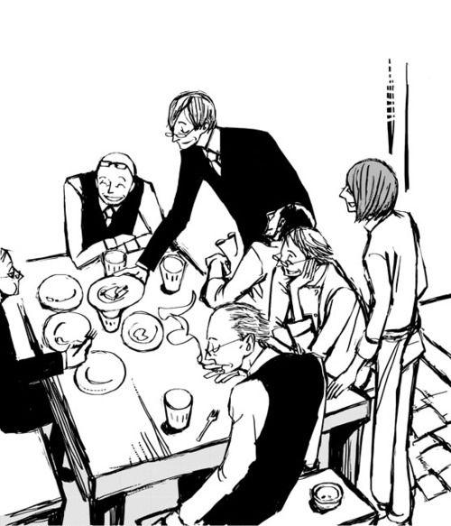 Ristorante Paradiso manga ile ilgili görsel sonucu
