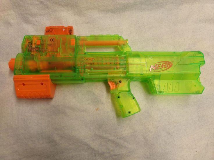 Nerf N-Strike Deploy CS-6 Blaster -Clear Green\ #Nerf #NerfNStrike #NStrike #dartguns #eBay