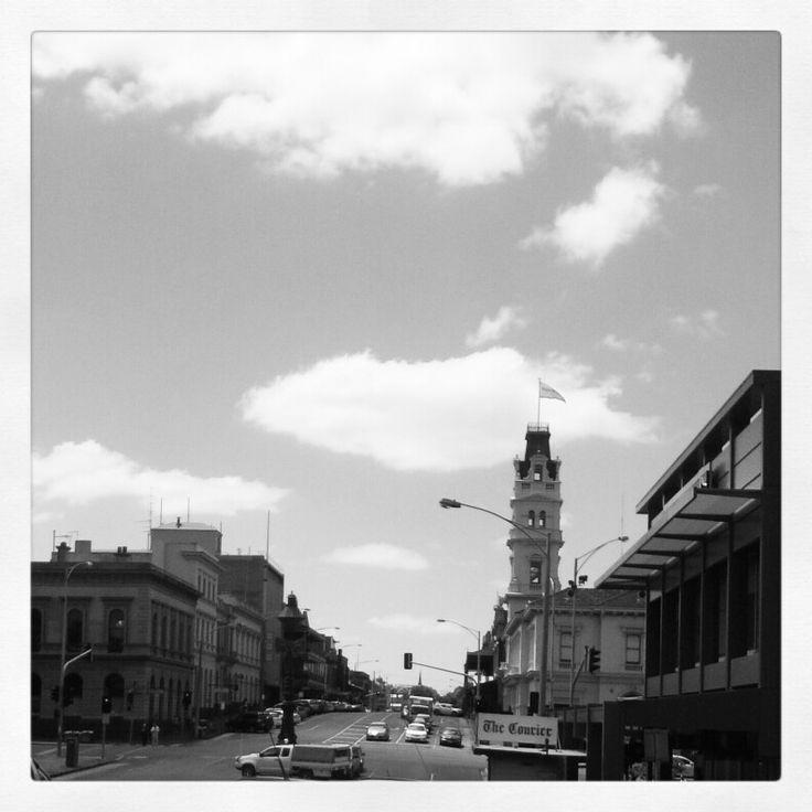 January 15: 'Black & White' Ballarat, Lydiard Street