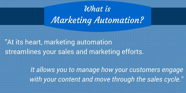 What is marketing automation? Find out more on our blog. #inbound #marketing #marketingautomation #sales