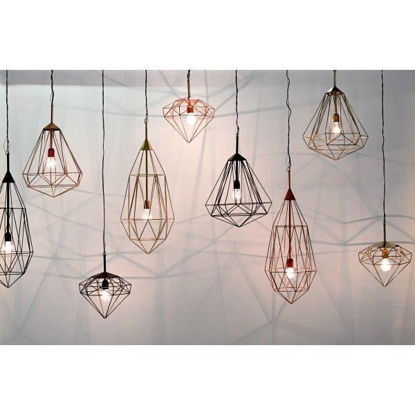 Diamond hanglamp medium | Pols Potten