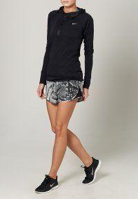 Nike Performance - PRINTED MOD TEMPO SHORT - Korte broeken - light ash grey/black/reflective silver