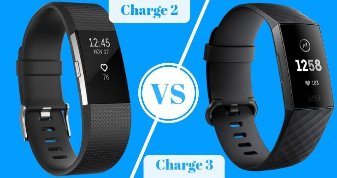 Fitbit Charge 3 vs Fitbit Charge 2 | Fitbit Comparison