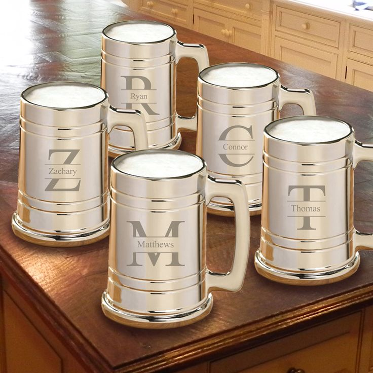 Monogrammed Groomsmen Gifts Are The Best Find Unique Designs In Sets Like These Gunmetal