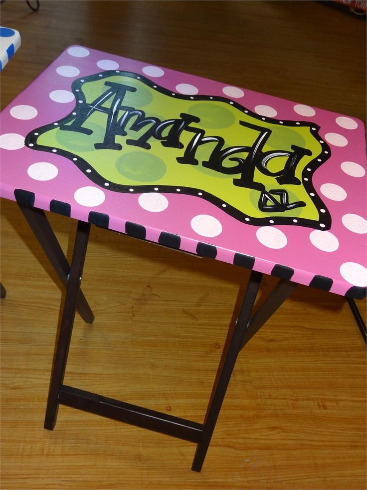 11 Best Tv Tray Makeover Images On Pinterest Tv Tray