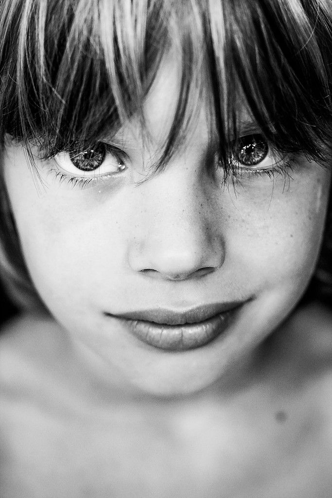 Porträts schwarz weiß