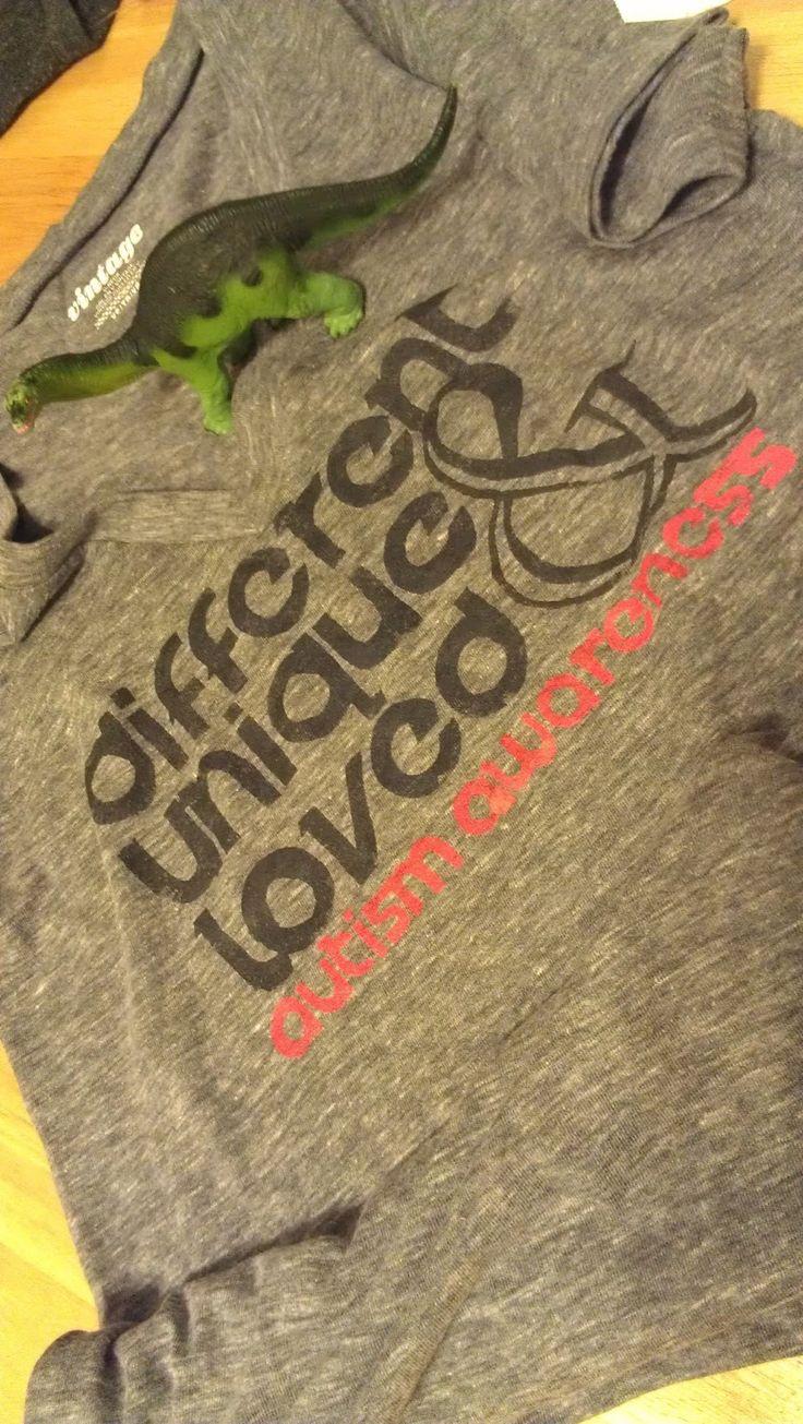 diy autism awareness shirt