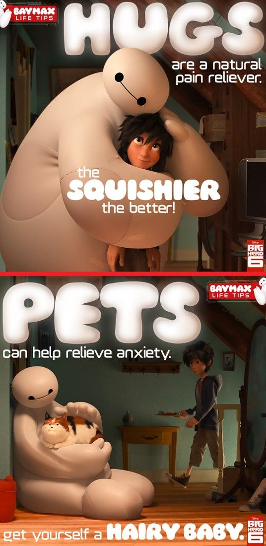 Baymax Life Tips - Essential Tips From The Most Huggable Healthcare Companion. Bring home Disney's Big Hero 6 now on Disney Movies Anywhere and on Blu-ray!