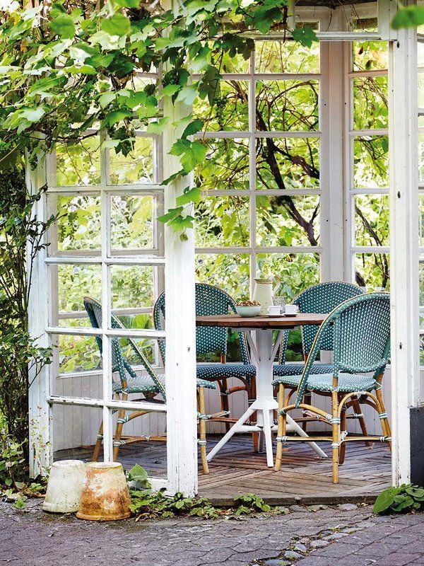 202 best jardines y terrazas images on pinterest - Decoracion de patios y terrazas ...