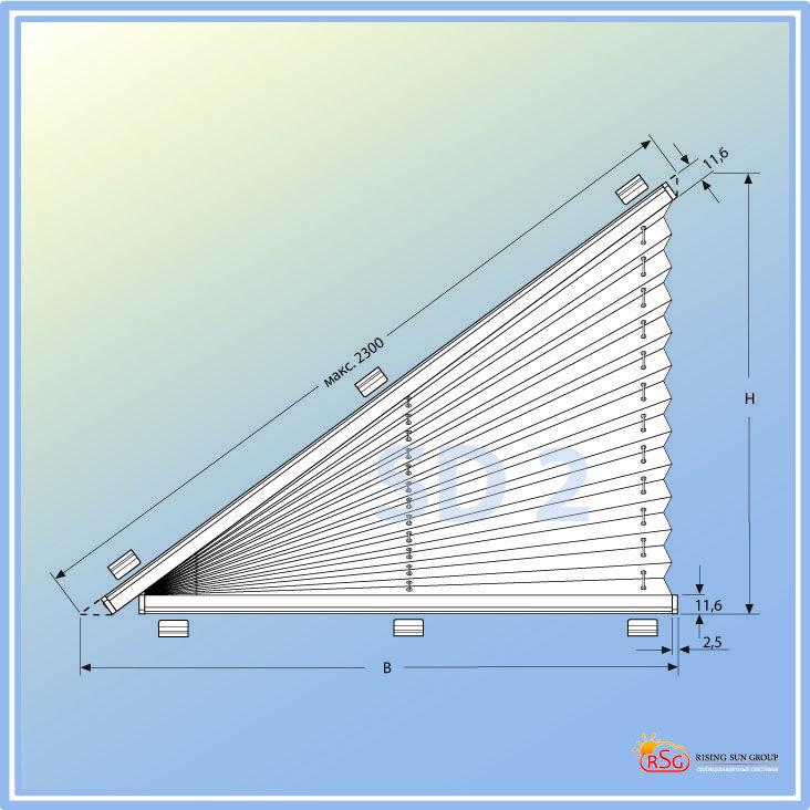 Картинки по запросу римские шторы на треугольное окно