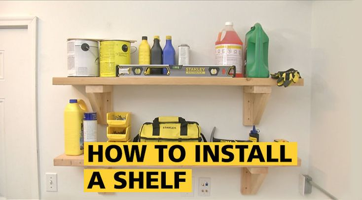 How to Install a Shelf | STANLEY Tools