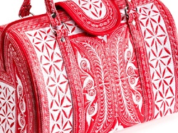 Laga handbags are lovingly embroidered by the women of Indonesia who use their skills to rebuild their community and create a sustainable economy.: Laga Handbags, Beautiful Purses