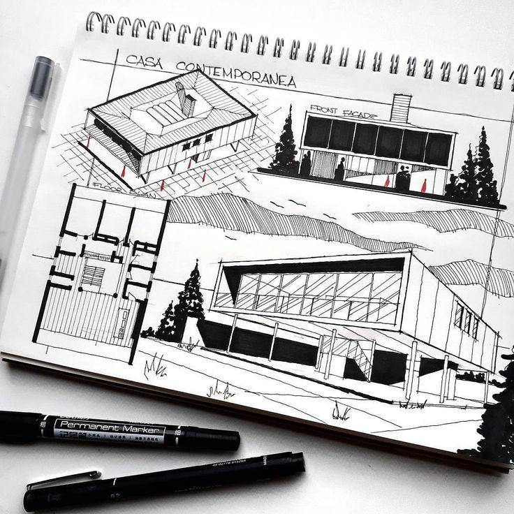 240 best dessins d\u0027architecte images on Pinterest Landscape design