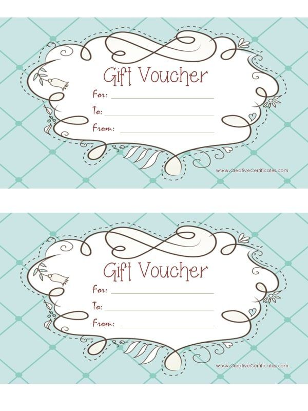 35 best Gift voucher images on Pinterest Gift cards, Free - printable gift voucher template